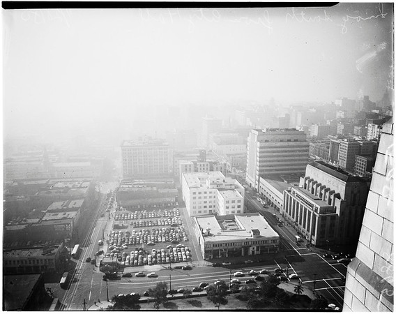 Smog pictures, 1950