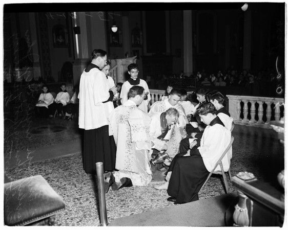 Holy Thursday (Saint Vibiana's), 1952