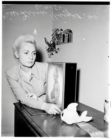 Paternity suit, 1952