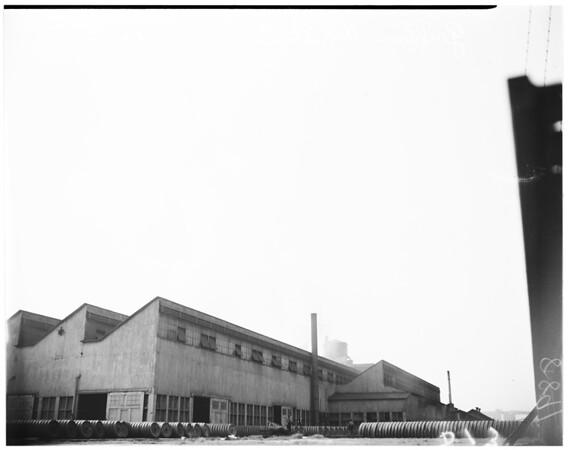 Smog tour, 1950