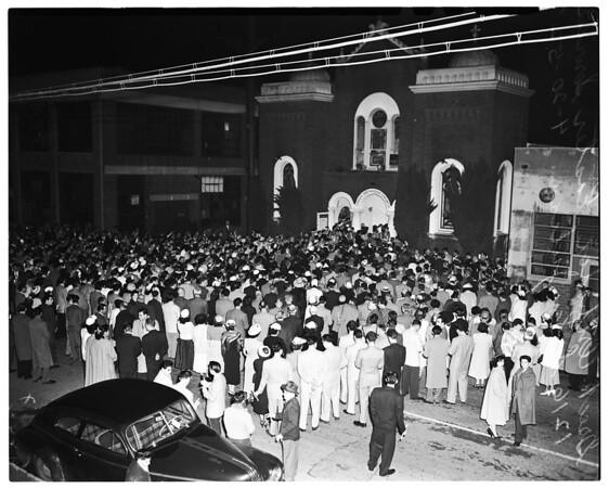 Greek Orthodox Easter ...1216 S. San Julian, 1952