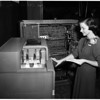 Business machine show (counting machine), 1952
