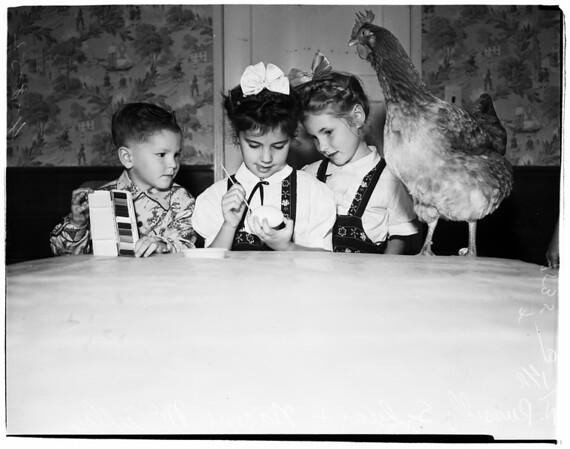 Large egg, 1952