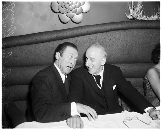 Jimmy Durante interview ...Mocambo, 1952