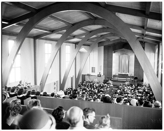 Alhambra First Lutheran Church dedicated, 1952