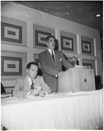 Probation Association convention, 1952