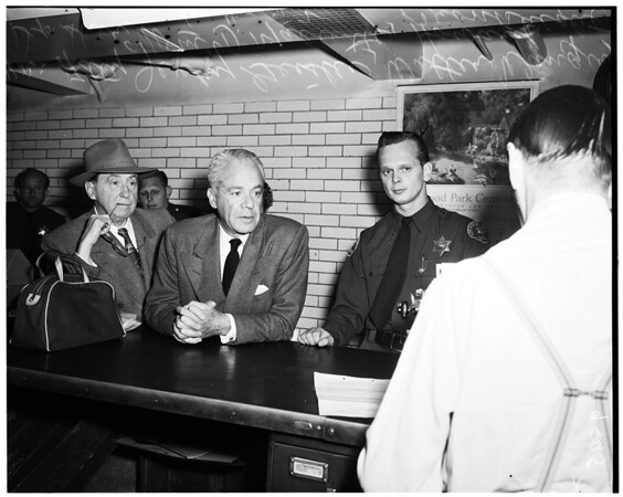 Walter Wanger in jail, 1952