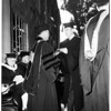 Chapman College graduation, 1952