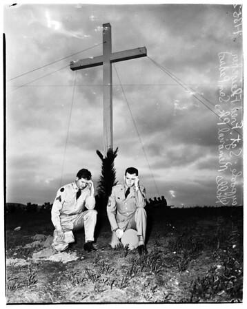Easter Services... Green Hills Memorial Park, San Pedro, 1952