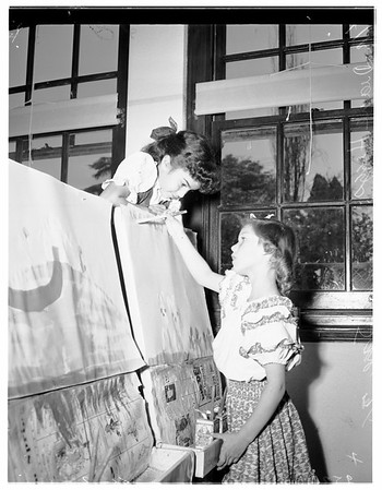 Mount Washington School art show, 1952
