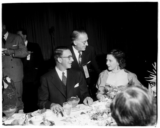 Dinner at Biltmore Bowl for Presidential Candidate, 1952