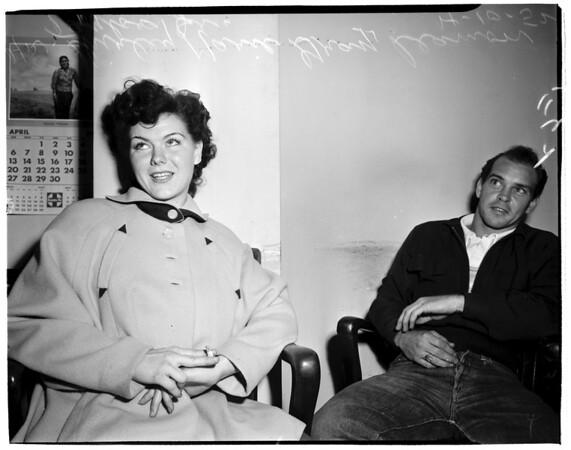 Bad checks, 1952