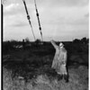 Men hit by lightning ...First one knocked unconscious in home 200 feet from spot where lightning struck..., 1952