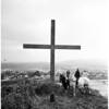 Easter Cross... Puente Hills, 1952