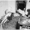 Double death... 1431 South Mansfield Avenue, 1952