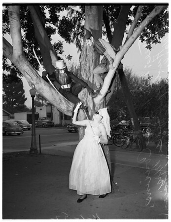 Halloween breakfast and festival (Anaheim),  1952