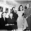 Soroptimist House planning fashion show, 1952
