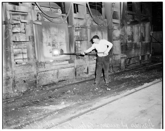 Columbia steel shutdown (Torrance), 1952