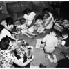 Easter Party for Tracy Clinic children, 1952