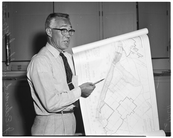 Ventura County shoreline development plan, 1956