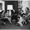 California Federation of Women's Clubs Board, 1952