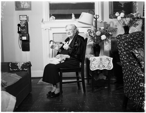 103rd birthday, 1958