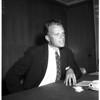 Press conference, 1958