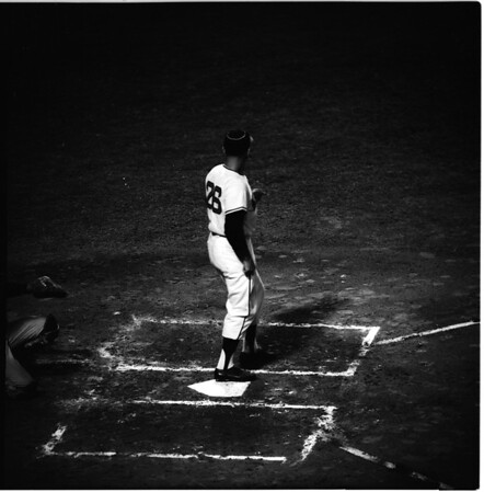 Baseball... Los Angeles Angels versus Washington Senators, 1961