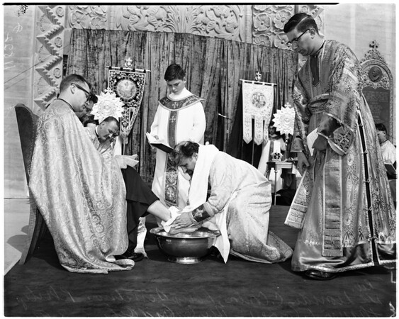 Greek Orthodox Church (Good Friday), 1956