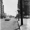 New street lights, 1957