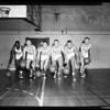 Basketball University of California Los Angeles, 1958