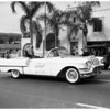 County March of Dimes parade in Belvedere section, 1958