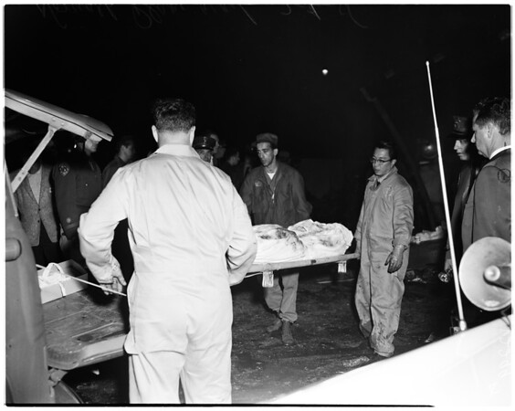 Plane crash in Norwalk (Air Force and Navy planes), 1958