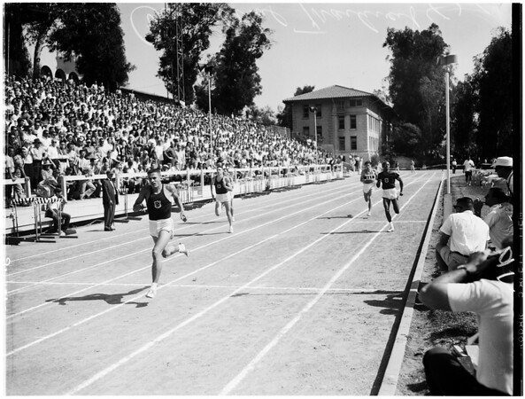 Track -- University of Southern California versus Occidental, 1961