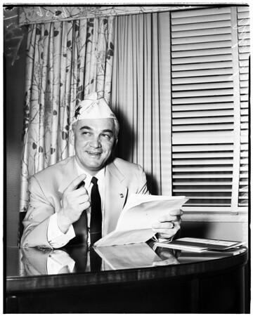 American Veterans State Convention (Santa Barbara), 1952.