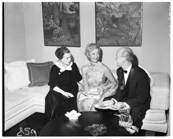 Harold Grieves' party, 1958