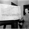 Master plan shoreline (Venice), 1956