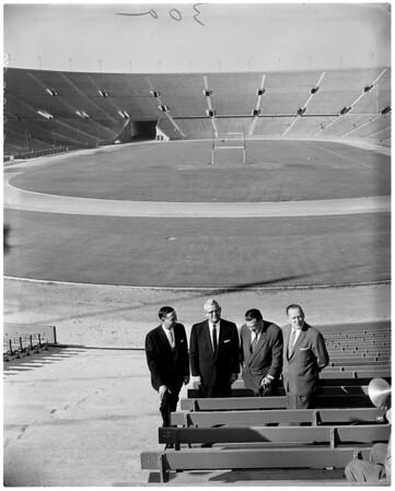 Stadiums -- Los Angeles Coliseum Commission, 1958