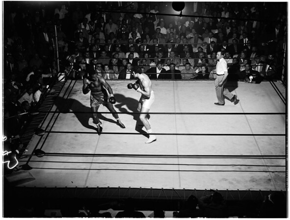 Boxing... Olympic fights, 1961