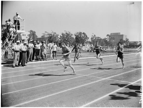 Track... University of California Los Angeles versus Stanford, 1961