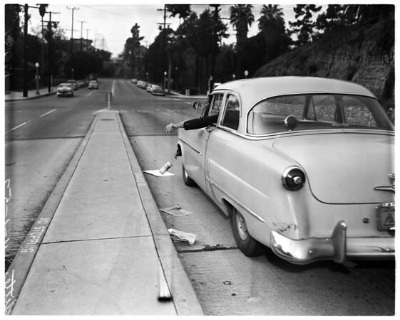 Litterbug feature, 1957