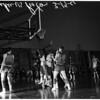 Basketball... Los Angeles Lakers vs Pistons, 1961