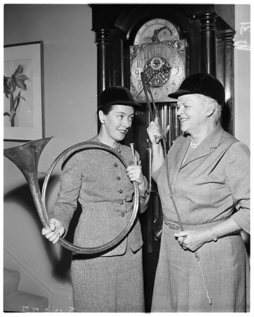 Pasadena Hunt Club, 1958