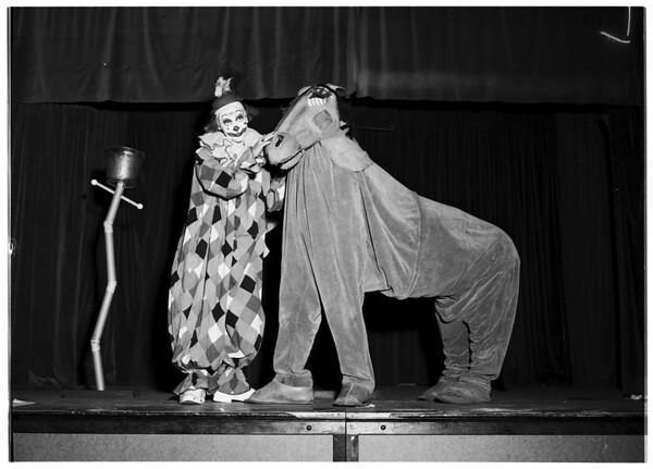 Pasadena Junior League play, 1952