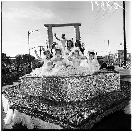 Culver City La Ballona Parade, 1961