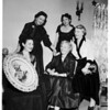 Philharmonic Orchestra women, Valley committee, 1952