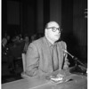 Labor Rackets hearing, 1958