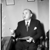 Quill, Chief Information Officer TWU leader (Transport Workers Union), 1952.
