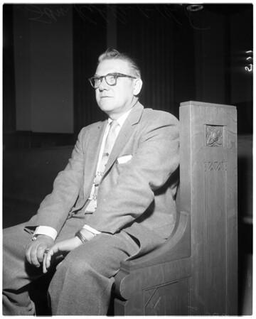Labor Rackets hearing, 1958