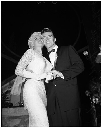Mansfield marriage, 1958